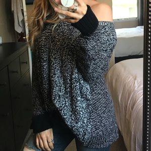 American Eagle Marled Chunky Knit Sweater